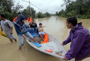 Jumlah mangsa banjir terus meningkat kepada 62,836 tengah hari ini
