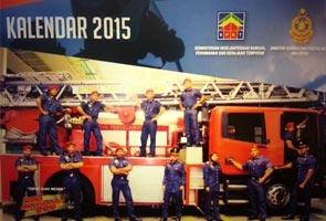 Kalendar Bomba 2015 jadi perhatian ramai