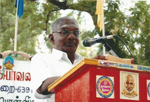 Professor So So Mee Sundaram, a Tamil literary scholar