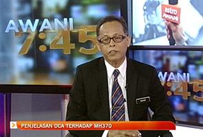 Penjelasan DCA berhubung status MH370