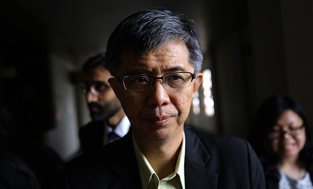 Tian Chua is arrested