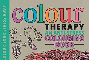 'Colour Therapy': latest adult coloring book focuses on anti-stress benefits