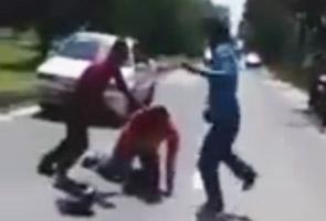 Tiga suspek kes buli jalan raya direman empat hari
