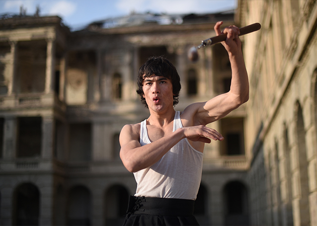 The Afghan Bruce Lee dreaming of Hollywood