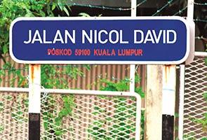 Nama jalan ditukar ke nama wira negara tidak didendang