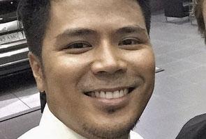 Awal Ashaari kemalangan di Melaka, kereta remuk teruk