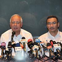 Perdana Menteri Datuk Seri Najib Tun Razak sidang media