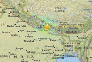 Angka korban gempa di Nepal terus meningkat