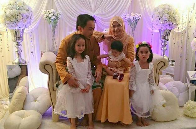 Gambar keluarga mangsa kemalangan maut, tiga terbunuh termasuk bayi berusia 6 bulan.