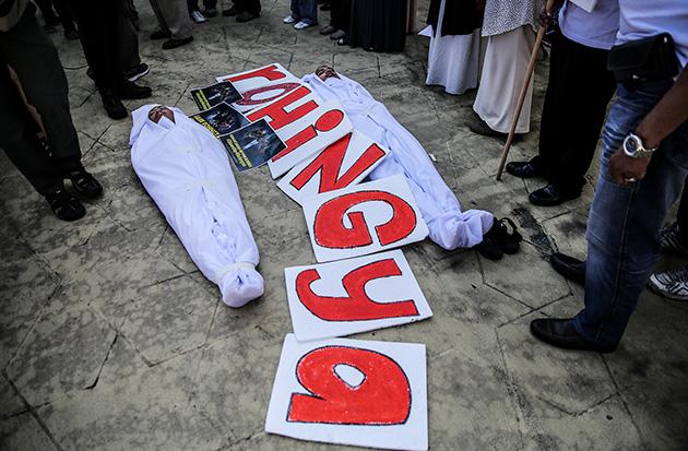 Protes Rohingya
