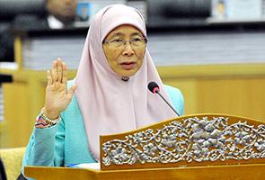 Wan Azizah akui tiada kesepakatan untuk tubuh kabinet bayangan