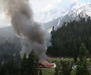 Helikopter terhempas di Pakistan