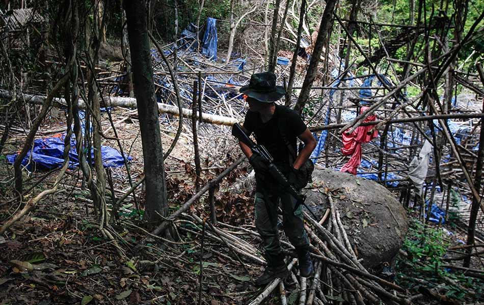 migrant crisis, graves, trafficking, Wang Burma, Malaysia