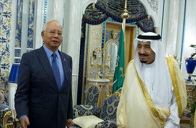 Najib Arab saudi