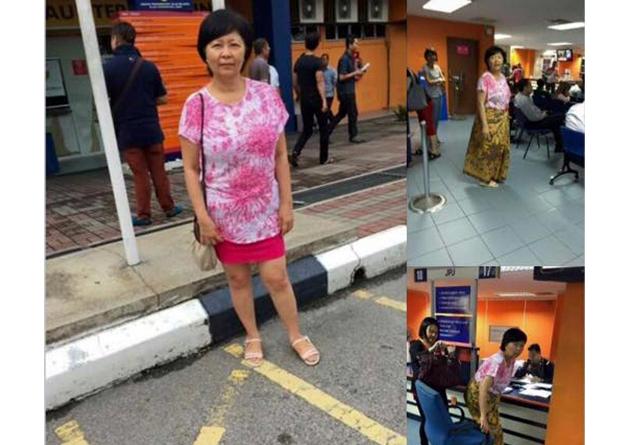 Wanita disuruh pakai kain batik di pejabat JPJ  Astro Awani