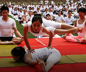 Hari Yoga sedunia