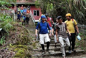 Kabus halang usaha mencari mangsa di Gunung Kinabalu