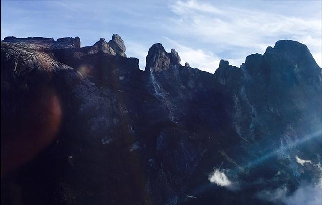 telah mengesan kerosakan serius di bahagian selatan Gunung Kinabalu ...