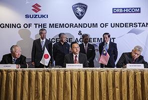 Proton signs MoU on strategic partnership with Suzuki Japan