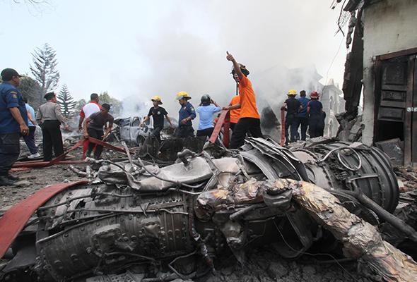 141 dipercayai korban nahas Hercules dibawa ke hospital untuk pengecaman