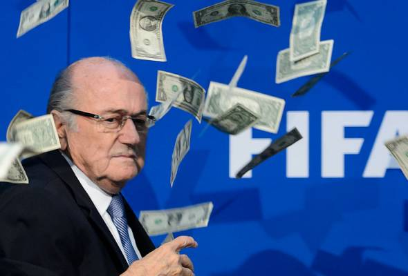 Sepp Blatter kena 'troll' secara langsung