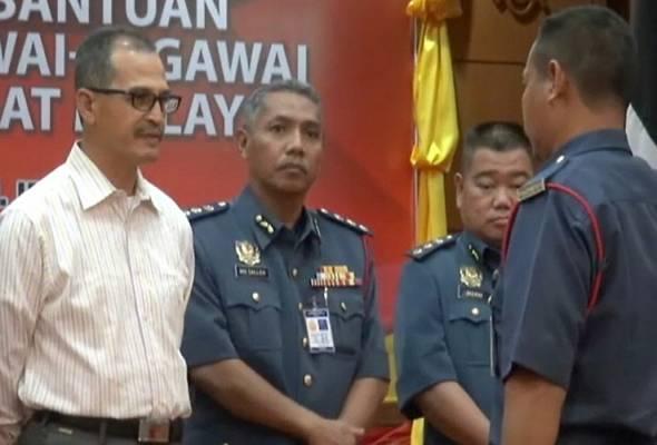 Jabatan bomba mohon kerajaan kaji semula kenaikan elaun