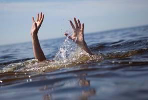 Tiga beradik ditemui mati lemas dalam parit di Pekan