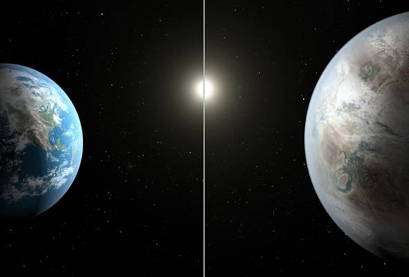 NASA temui planet seiras Bumi
