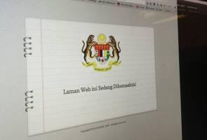 Laman web TPM dikemaskini susulan rombakan kabinet