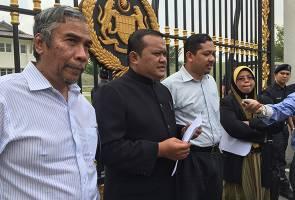 GHB serah memorandum mohon Siasatan Diraja dalam isu 1MDB