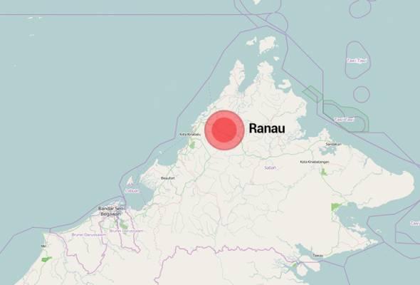 Gempa bumi lemah landa Ranau