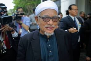 Abdul Hadi Awang's health improves, says political secretary