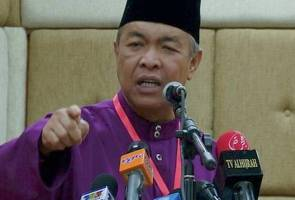 An 'insider' aims to topple government, says Ahmad Zahid