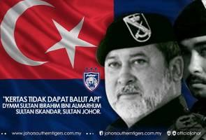 Sultan Johor tegur pemimpin politik