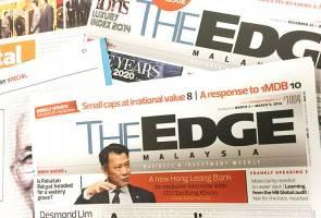 Mahkamah tolak permohonan The Edge tangguhkan arahan penggantungan dua penerbitan