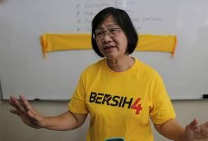 Tindakan kerajaan melarang pakai baju 'Bersih 4' melucukan - Maria Chin