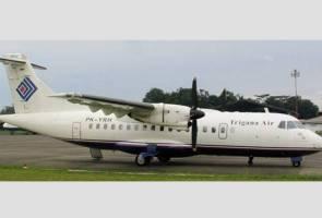 Pesawat Indonesia bawa 54 penumpang terputus perhubungan