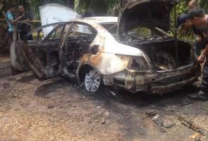 'Kereta masih berasap ketika dijumpai' - Saksi