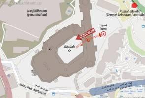 [TERKINI] Tragedi kren runtuh di Masjidilharam - Seorang warga Malaysia disahkan maut