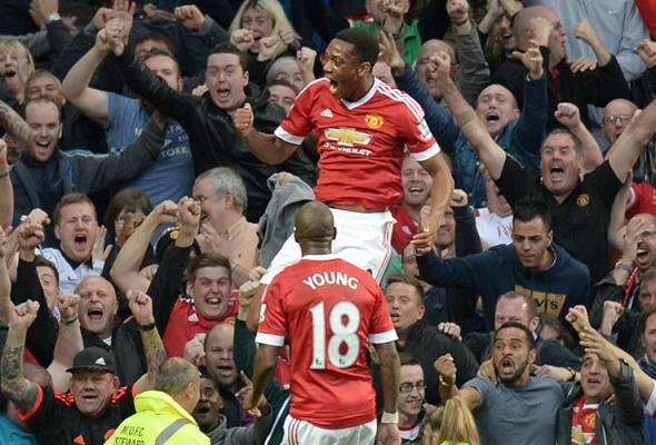 EPL: Manchester United benam Liverpool, bintang Martial menyinar