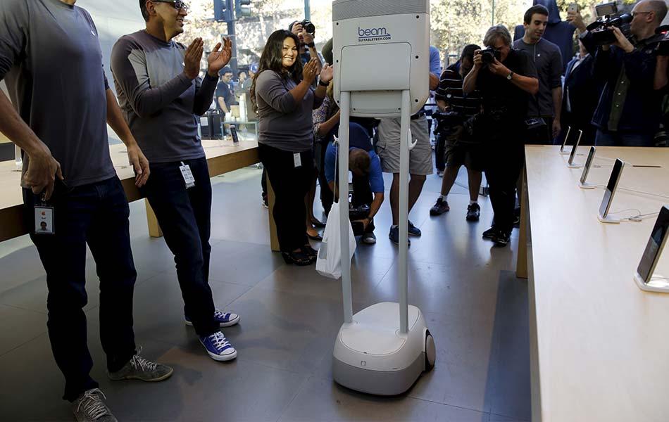 iPhone 6s, iPhone 6s Plus, Apple inc, Robot, Beam