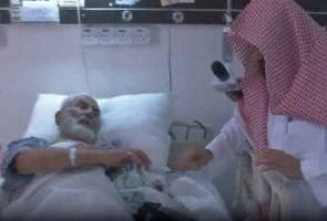 Mangsa kren jatuh di Masjidil Haram masih trauma