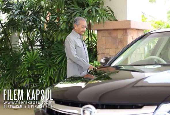 Kelibat Proton Perdana 2016 dalam filem Kapsul