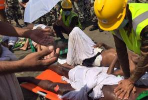 Insiden rempuhan Mina: Angka kematian jemaah haji meningkat ke 717, 863 cedera