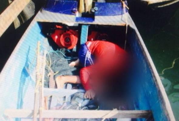 Lelaki lontar bom ikan kepada anggota Polis Marin ditembak mati