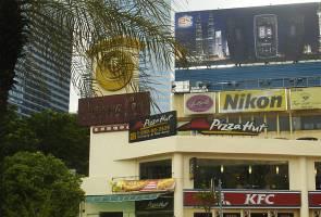 Persemadian kompleks 'otai' di Jalan Ampang