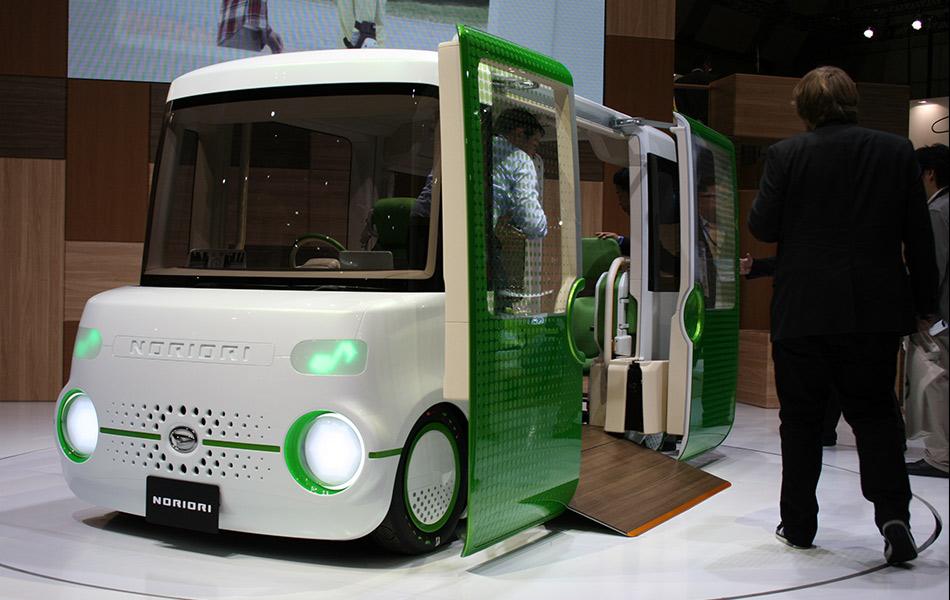 pemotoran, pameran, Tokyo, kereta konsep, Japan