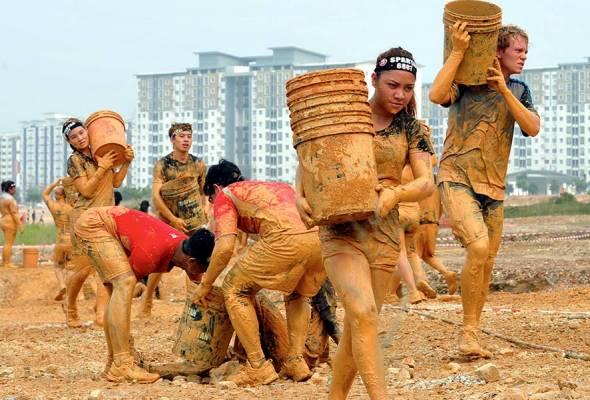Spartan Race kembali ke Sarawak tahun hadapan