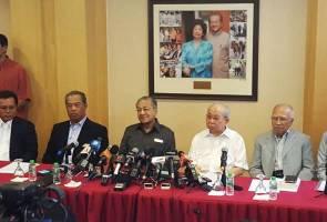 Pemimpin 'heavyweight' BN sertai Tun M, bantah penahanan SOSMA
