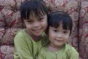 Mayat dua kanak-kanak perempuan ditemui berpelukan dalam kebakaran